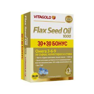 Vitagold - Flax Seed Oil 1000 x30