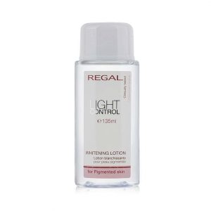Whitening lotion for pigmented skin