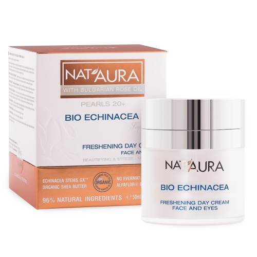"Biofresh - Refreshing Day Cream For Face And Eye Contour ""NAT'AURA"" 20+ x50ml."