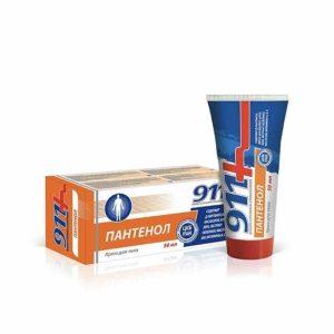 PANTENOL cream