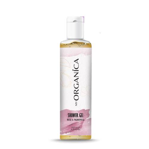 Shower Gel With Rose And Palmarosis 200ml.