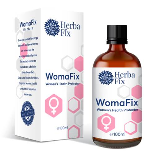 Womafix - For Women's Health And Hormonal Balance 100ml.