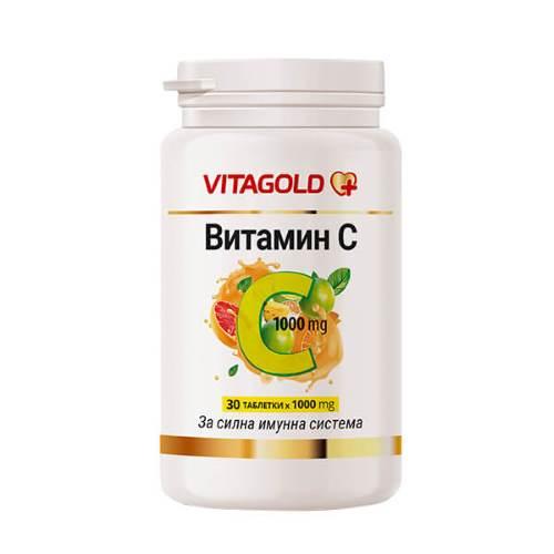 Vitagold - Vitamin C - 1000mg x30
