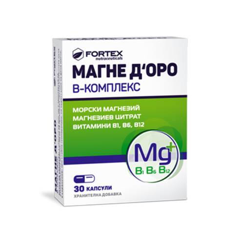 Fortex - Magne D'Oro B-complex x30caps