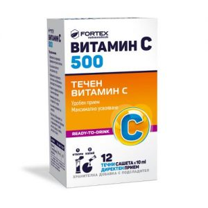 Fortex - Vitamin C 500 - 12x10ml