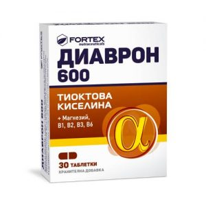 Fortex - Diavron 600 x30 caps