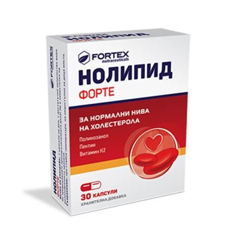 Fortex - Nolipid Forte x30caps