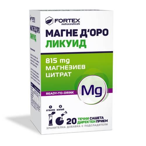 Fortex - Magne D'Oro Liquid x20
