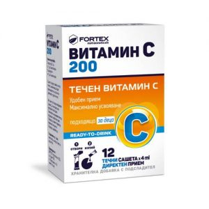 Fortex - Vitamin C 200 - 12x4ml