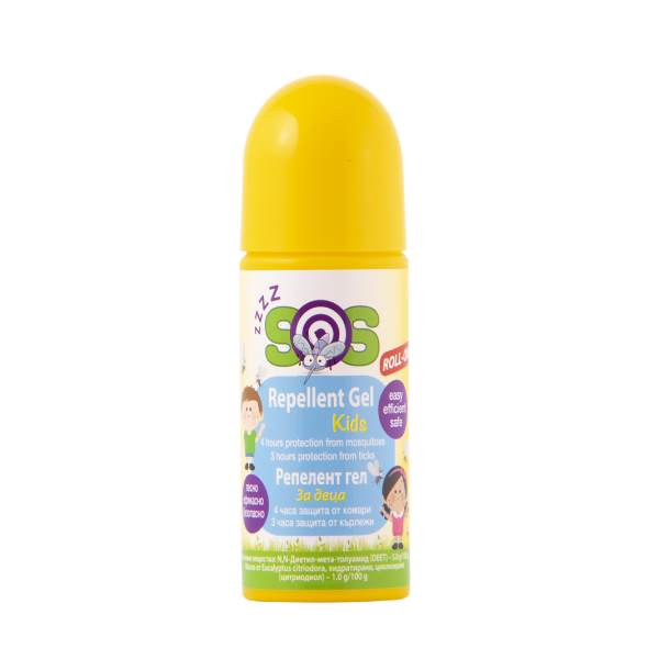 gel for children Protection against mosquitoes x100ml