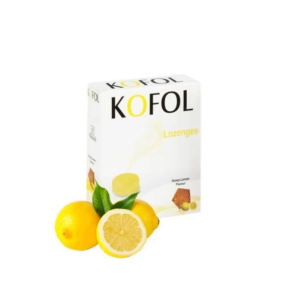 Caffeine Honey and lemon - For a healthy throat x12