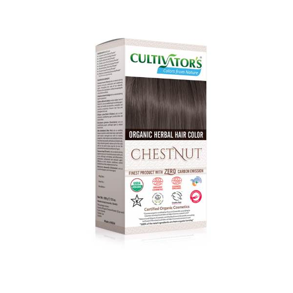 Organic herbal hair dye chestnut Cultivator's x100g