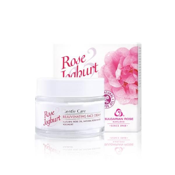 ROSE JOGHURT REJUVENATING FACE CREAM x50 ML